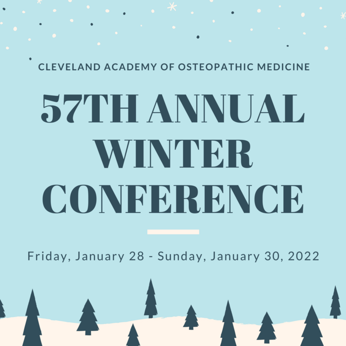 CAOM's 57th Winter Conference 2022 | 24 Category 1-A AOA CME