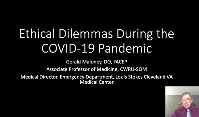 Ethical Dilemmas During the COVID-19 Pandemic